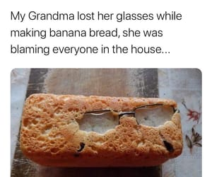 baking, grandma, and blaming image