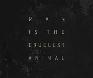 black, cruel, and dark image