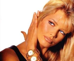 blue eyes, long hair, and blonde model image