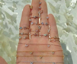 accessories, jewerly, and butterflies image