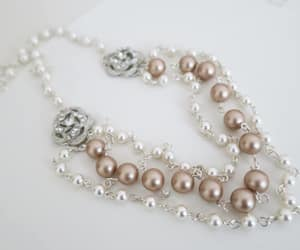 etsy, pearl bridal, and bridalnecklace image