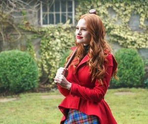 cheryl blossom, madelaine petsch, and riverdale image