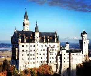 awesome, castle, and burg image