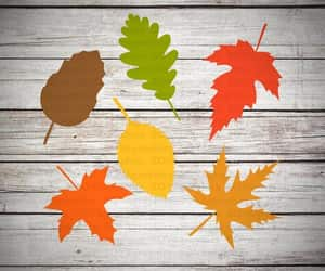 clipart, autumn leaves svg, and cut file image
