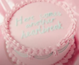 cake, pink, and k-12 image