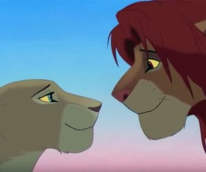 lion king and love image
