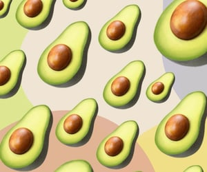 background, pattern, and aguacate image