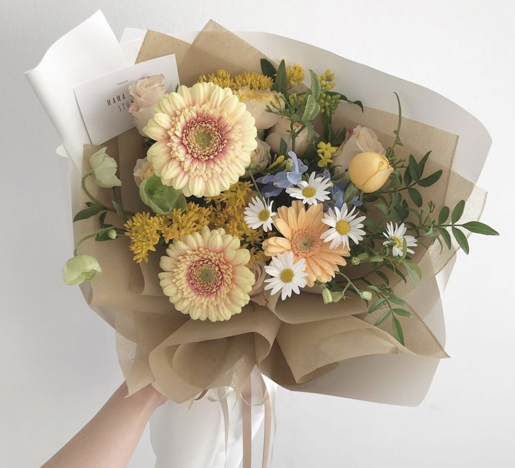 flowers, cute, and yellow image