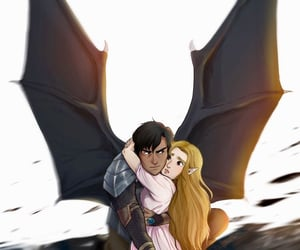 couple, fanart, and sarah j maas image