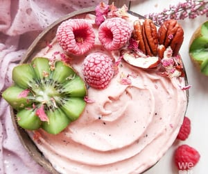 breakfast and pink image