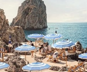 italy, sea, and summer image
