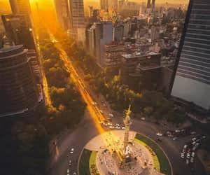 cities, méxico, and city image