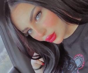 girl, makeup, and snap image