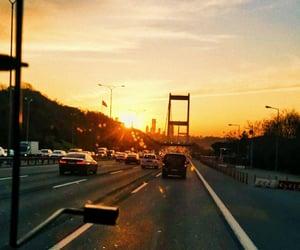 istanbul, manzara, and köprü image