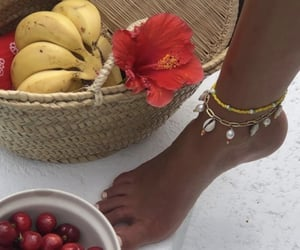 feet and fruit image