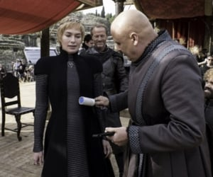 behind the scenes, cast, and lena headey image