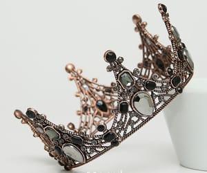 tiara, wedding accessories, and vintage tiara image