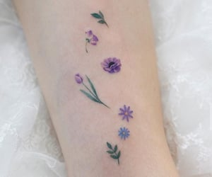 flowers, garden, and girly image