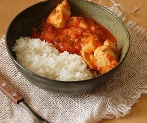 fish, stew, and coriander image