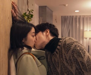 couple, kiss, and jdrama image