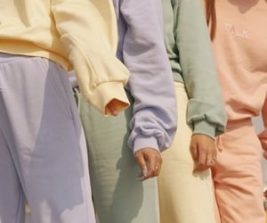 pastel, aesthetic, and outfit image