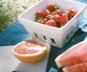 fruit, strawberry, and aesthetic image