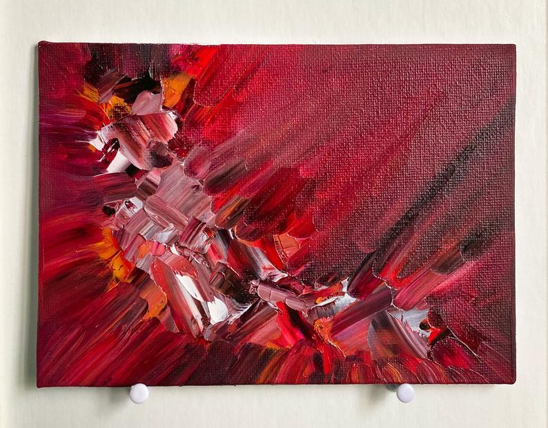 Abstract Painting, abstract art, and aesthetic painting image