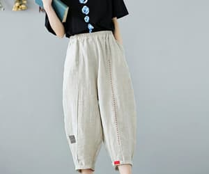 etsy, harem pants, and casual pants image