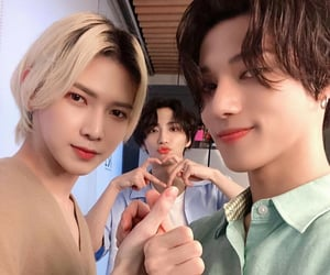 wooyoung, k pop, and seonghwa image