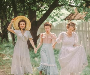 aesthetic, girls, and period drama image