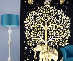 etsy, tree of life tapestry, and indian tapestry image