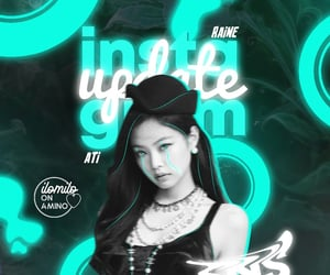 edit, neon, and jennie image