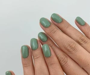 nails, green, and aesthetic image
