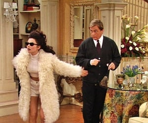 the nanny, 90s, and fran image