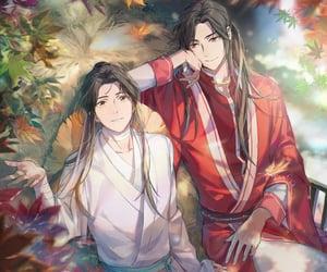 donghua, xie lian, and san lang image