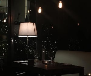 aesthetic, dine, and night image