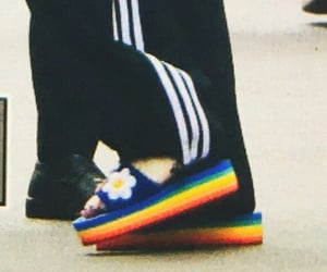 details, kpop, and rainbow image