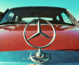 cars, mercedes, and retro image