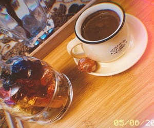 coffee and instagram image
