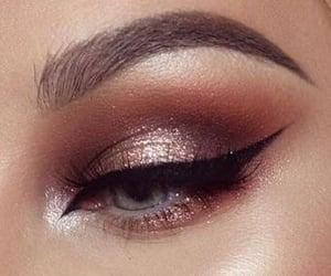 eyeliner, makeup, and eyeshadow image