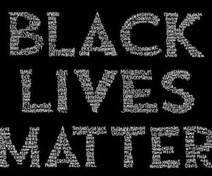 justice, peace, and black lives matter image