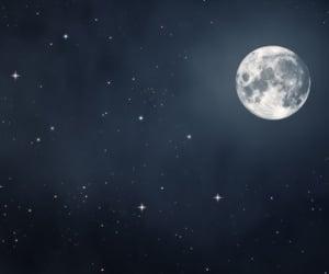 headers, moon, and sky image