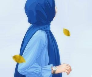 allah, muslim anime girl, and arabian arab arabic image