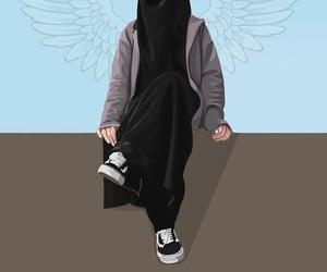 allah, black, and muslim girl image