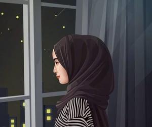 allah, hijab, and مسلم إسلام إسلاميات image