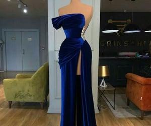 blue, dress, and valdrin sahiti image