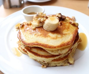 pancakes and breakfast image