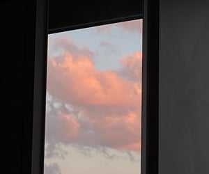 aesthetic, tumblr, and pink clouds image