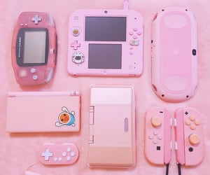 gameboy, gamer, and girly image