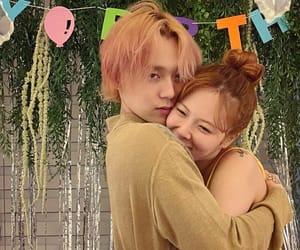 couple, hyuna, and dawn image